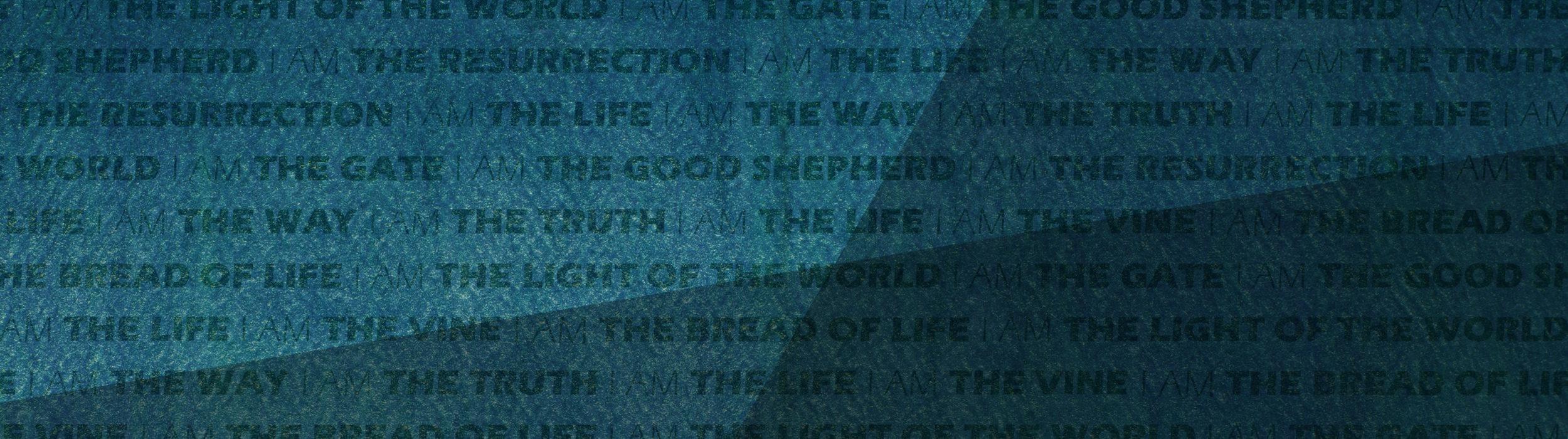 Sermon Series: the Book of John